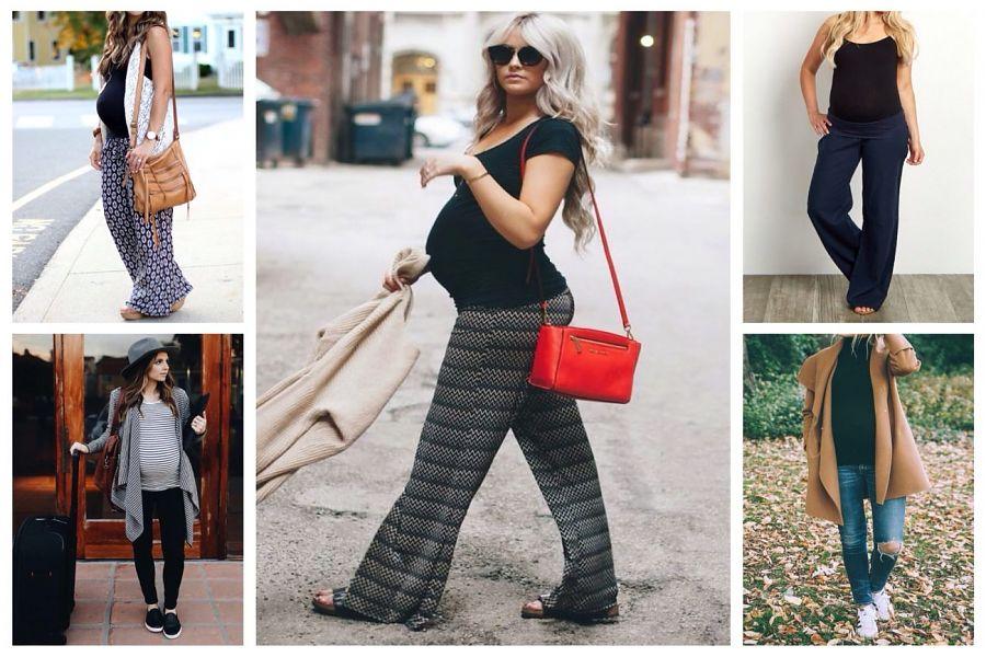 Как правильно одеваться беременной девушке?
